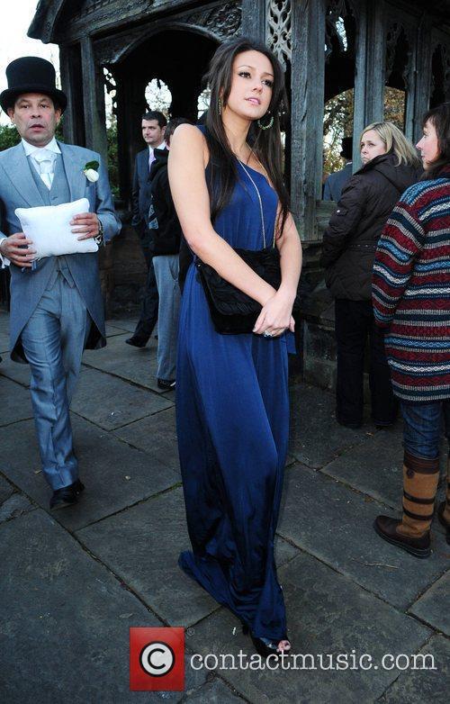 Michelle Keegan The wedding of Simon Gregson and...