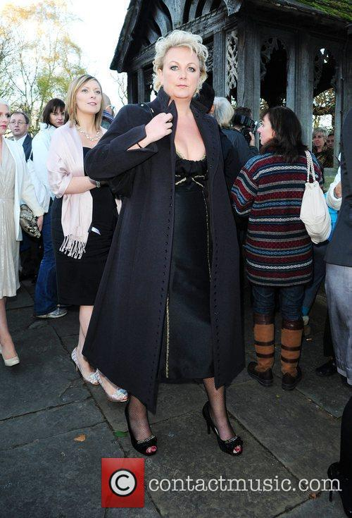 Sue Clever The wedding of Simon Gregson and...