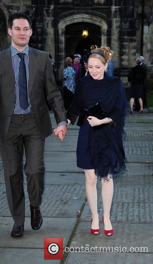 Julia Howarth and Husband The wedding of Simon...