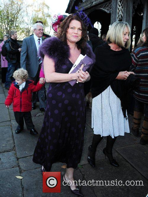 Vicky Entwistle The wedding of Simon Gregson and...