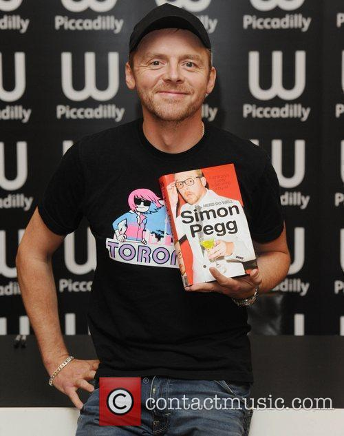 Simon Pegg, Waterstone's In Piccadilly
