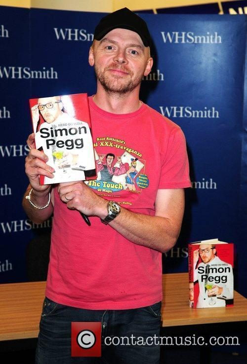 Simon Pegg and N.e.r.d 6