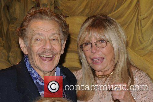 Jerry Stiller and Nancy Sinatra 1