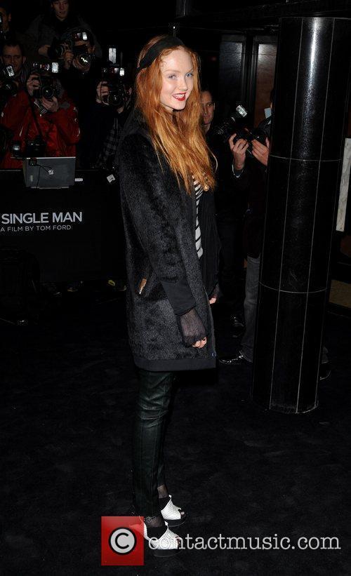 Lily Cole Single Man - UK film premiere...