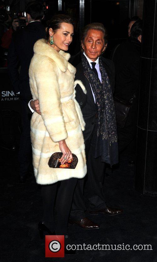 Valentino Garavani and Yasmin Le Bon Single Man...