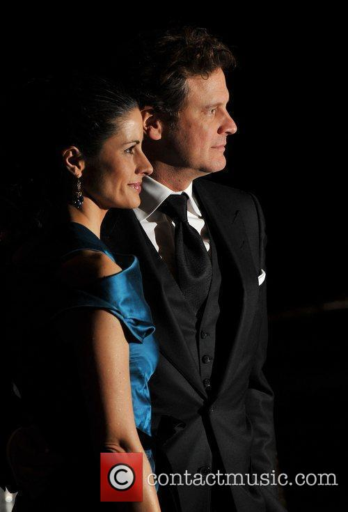 colin firth livia giuggioli. Colin Firth and Livia