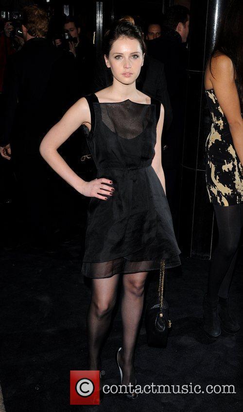 Felicity Jones Single Man - UK film premiere...