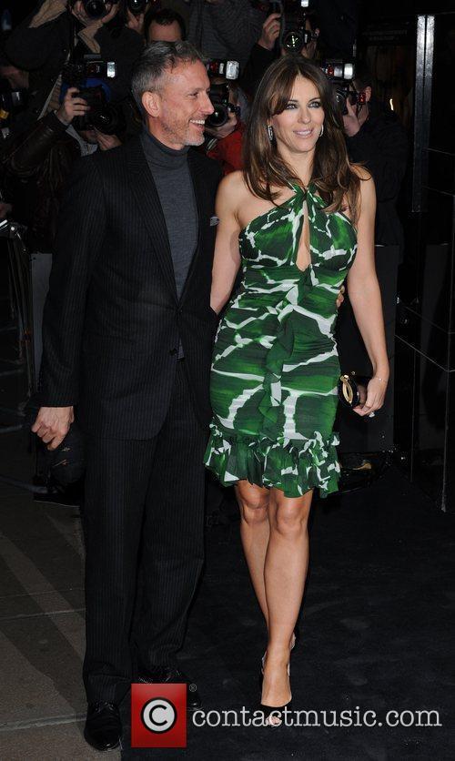Patrick Cox and Elizabeth Hurley 2