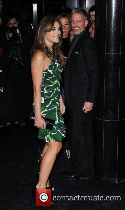 Patrick Cox and Elizabeth Hurley 1
