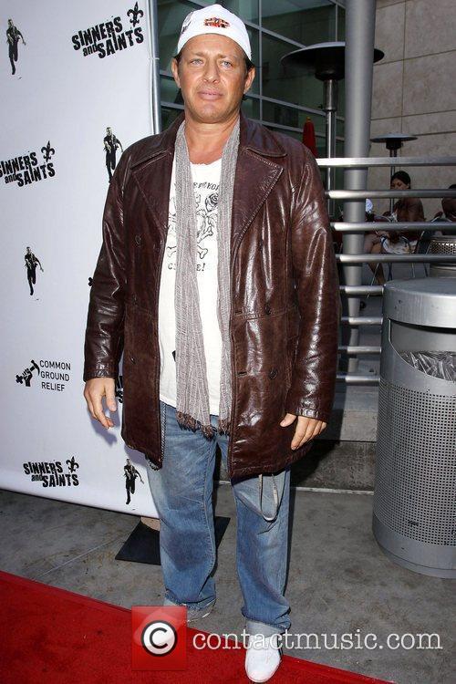 Costas Mandylor Premiere of 'Sinners & Saints' held...