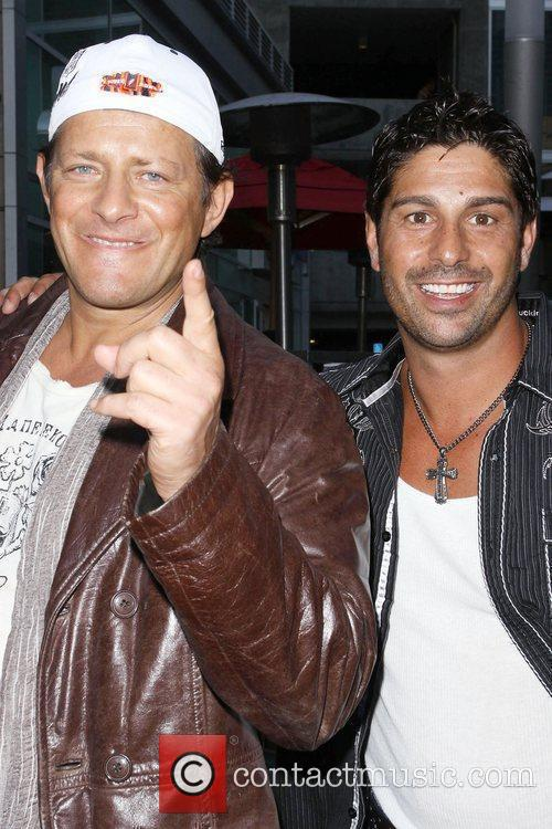 Costas Mandylor and guest Premiere of 'Sinners &...