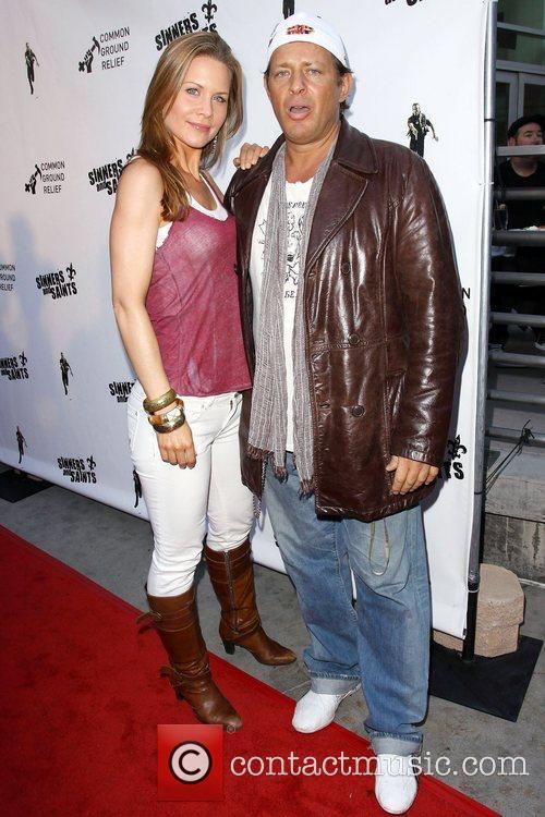 Josie Davis and Costas Mandylor Premiere of 'Sinners...