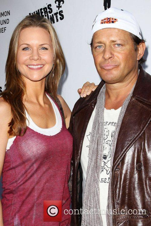 Josie Davis and Costas Mandylor