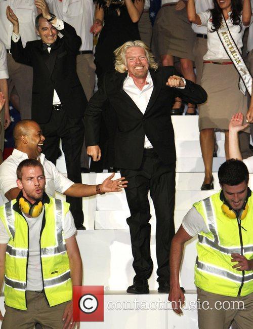 Richard Branson and Delta Goodrem 8