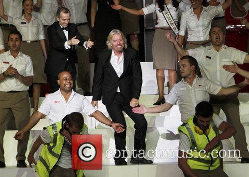 Richard Branson and Delta Goodrem 3
