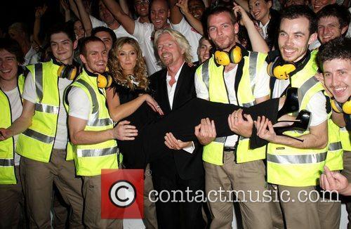 Richard Branson and Delta Goodrem 2