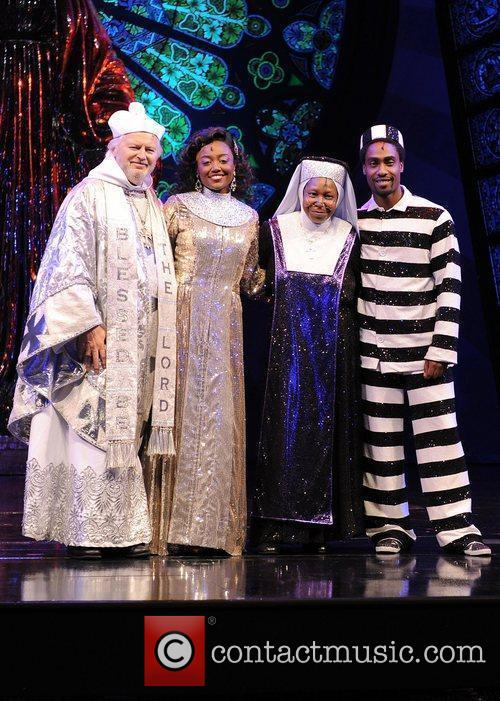 The cast of 'Sister Act' at the London...