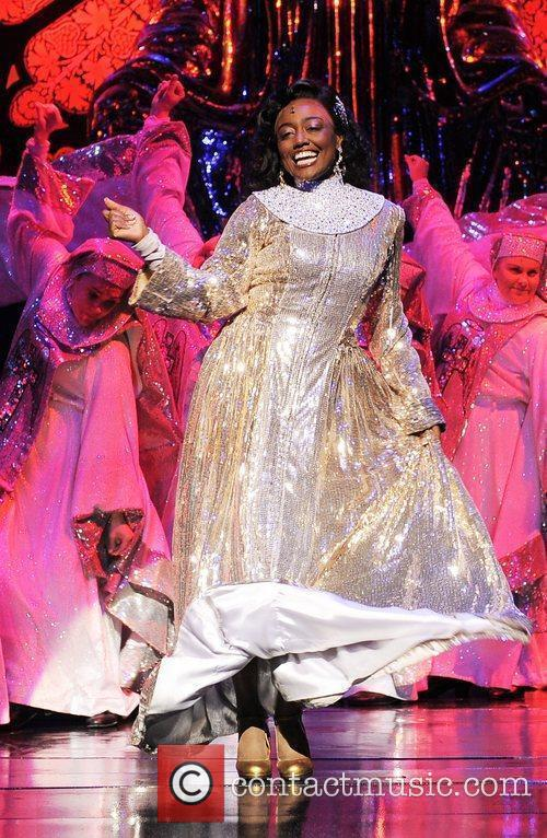 Patina Miller The cast of 'Sister Act' at...