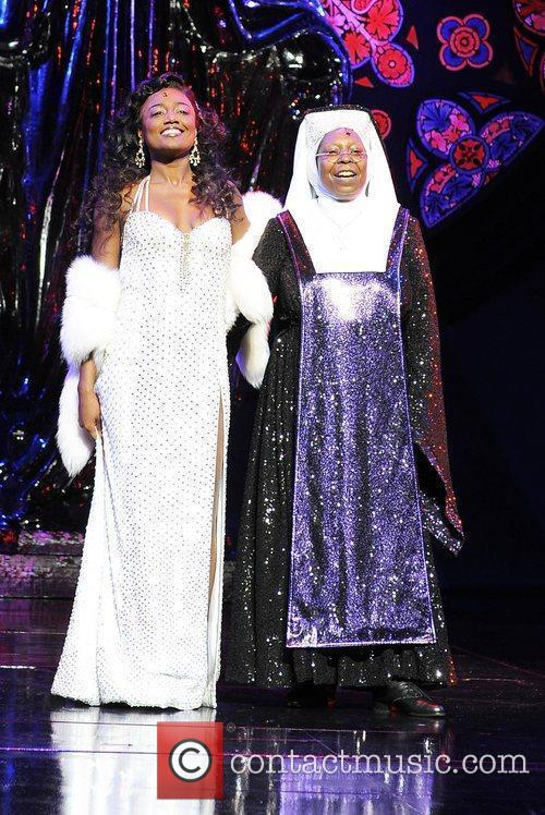 Whoopi Goldberg and Patina Miller The cast of...
