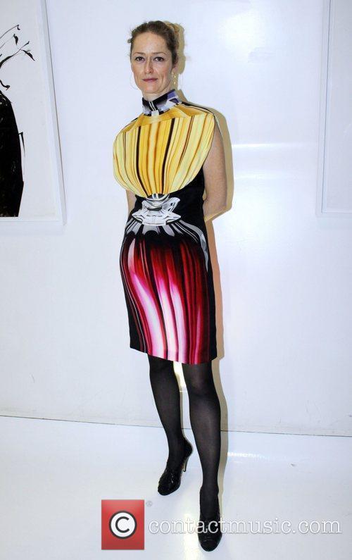 Amy Ruechi Wearing Mary Katrantzou 8
