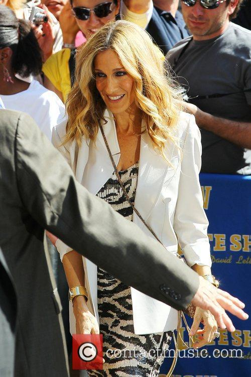 Sarah Jessica Parker, David Letterman and Sex And The City 13