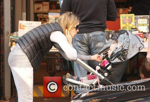 Sarah Jessica Parker is seen taking a stroll...