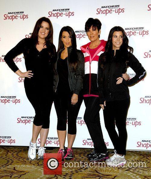 Kourtney Kardashian, Khloe Kardashian and Kim Kardashian 2