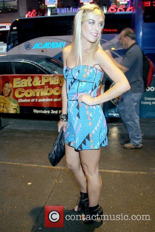 Tinsley Mortimer 2010 Celebrity Skee Ball Tournament to...
