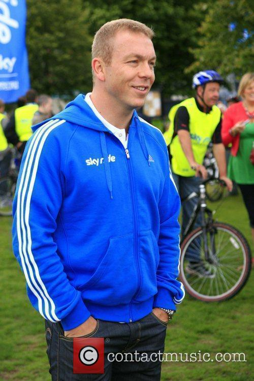 Chris Hoy The Glasgow Sky Ride Mass Cycle...
