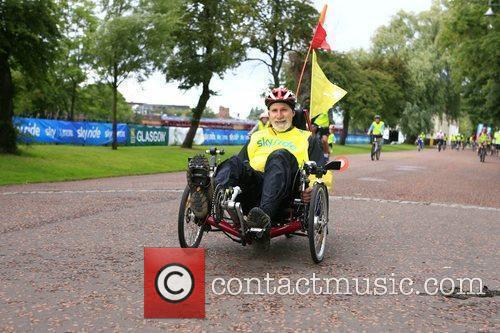 The Glasgow Sky Ride Mass Cycle Event