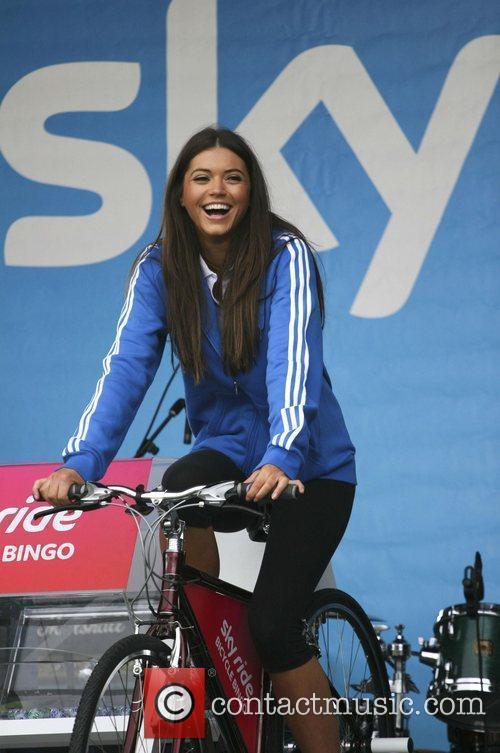 Miss Scotland Nicola Mimnagh The Glasgow Sky Ride...