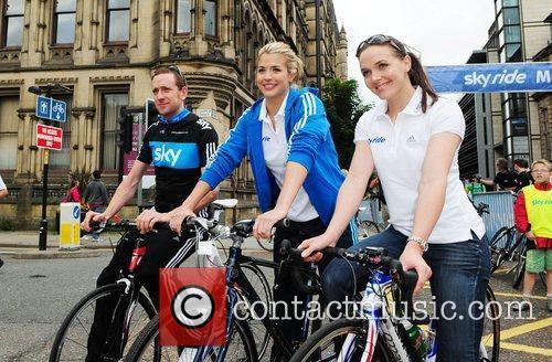 Bradley Wiggins, Gemma Atkinson and Victoria Pendleton...