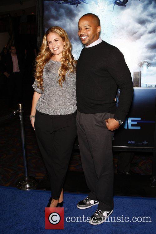 CaCee Cobb and Donald Faison Los Angeles Premiere...