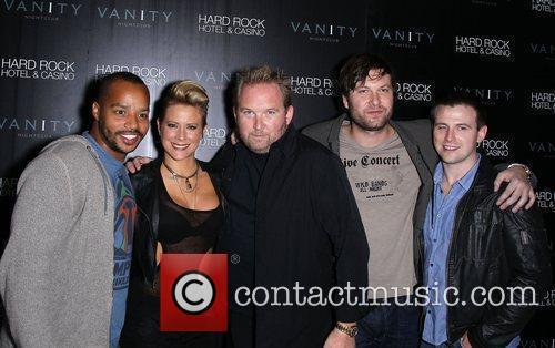 Donald Faison, Brittany Daniel and Las Vegas 4