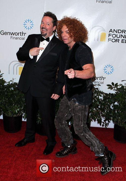 Terry Fator and Carrot Top Andre Agassi Grand...