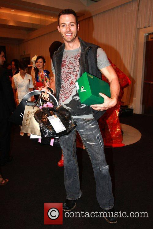 Eric Mastoff Celebrities attend a gifting suite held...