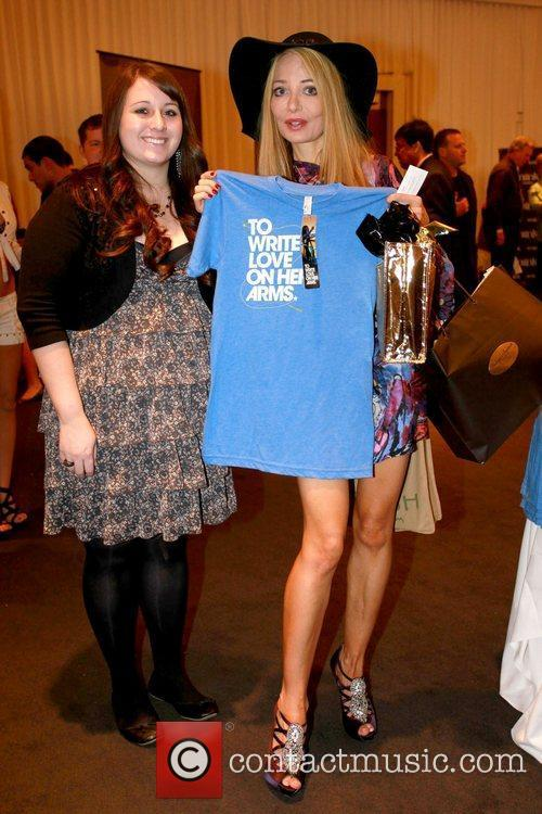 Lorielle New Celebrities attend a gifting suite held...