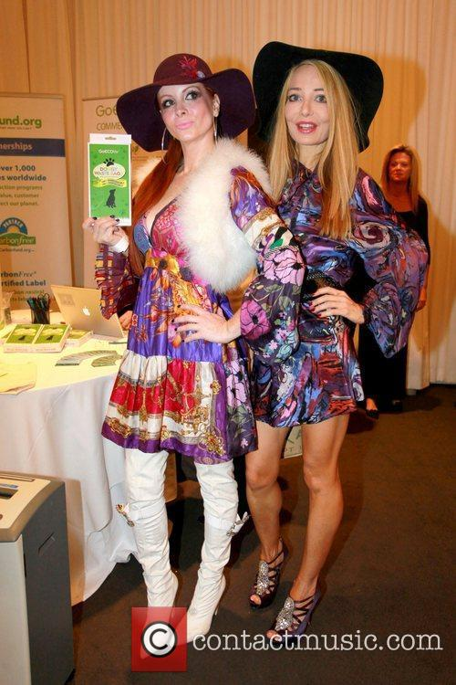 Phoebe Price and Lorielle New Celebrities attend a...