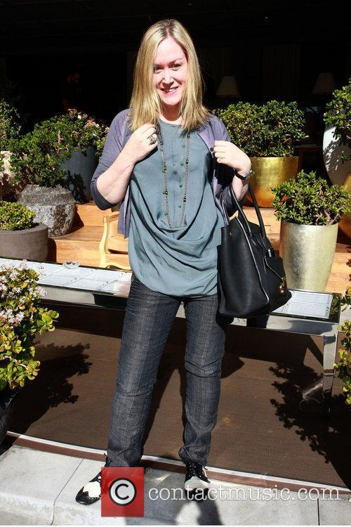 Celebrities attend a gifting suite held at SLS...