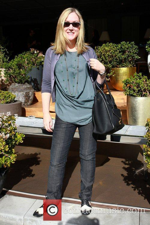 Sally Brooks Celebrities attend a gifting suite held...