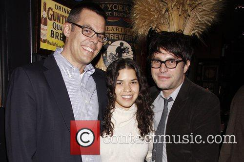 Adam Bock and America Ferrera 5