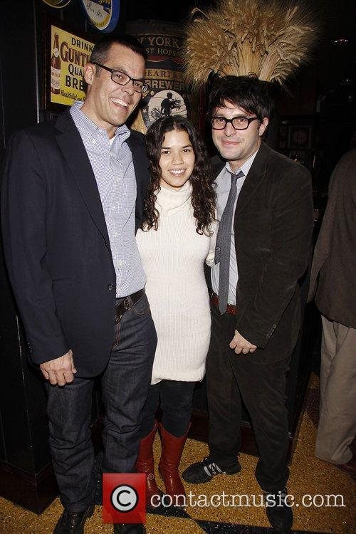 Adam Bock and America Ferrera 7