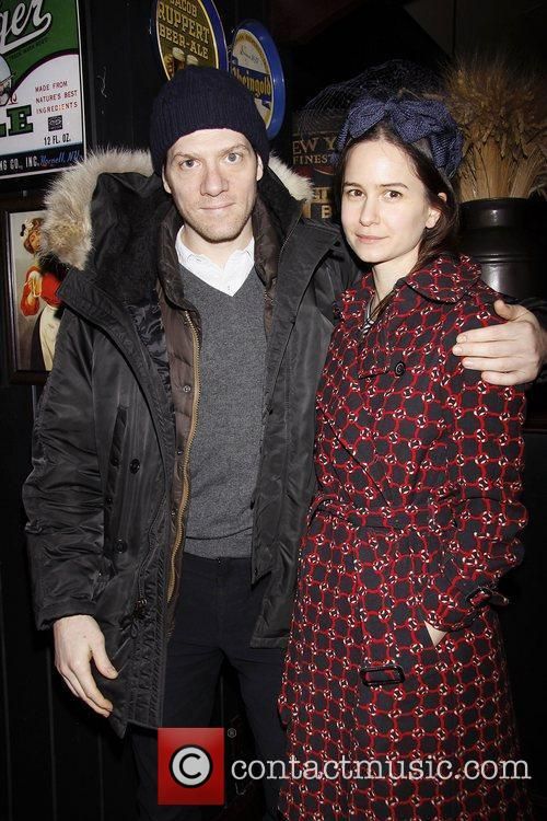 Adam Rapp and Katherine Waterston   Afterparty...
