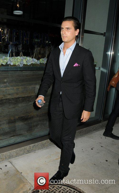 Scott Disick leaving the Smyth Hotel