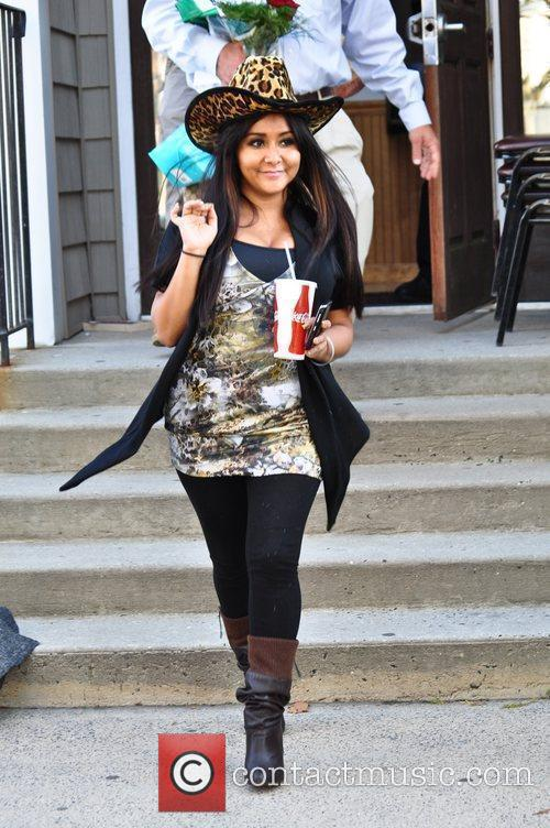 Nicole Polizzi aka Snooki attends a charitable signing...