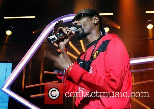 Snoop Dogg performing at Manchester Evening Apollo Theatre...