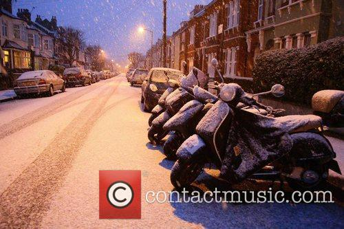 Yet more snow in West London