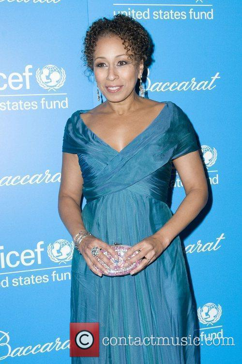 Tamara Tunie and Unicef 1