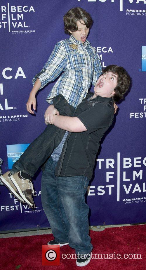 Bobby Coleman And Josh Flitter 2010 Tribeca Film...