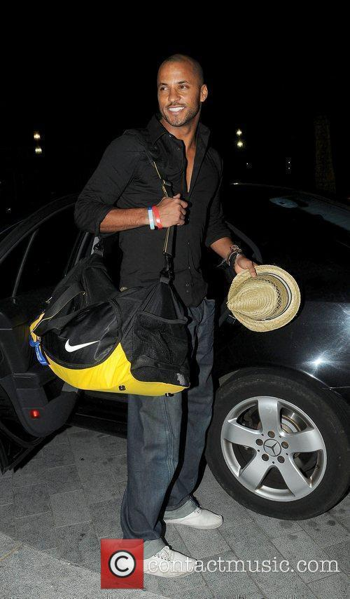 Leaving his hotel after attending the 2010 British...